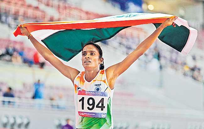 Gomathi Marimuthu appeal against doping ban rejected by CAS - Sakshi