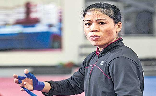 Mary Kom, other women boxers to train at ASI Pune for Olympics - Sakshi