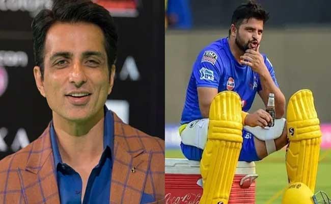 Sonu Sood Helps Suresh Raina After Cricketer Requests Oxygen Cylinder - Sakshi