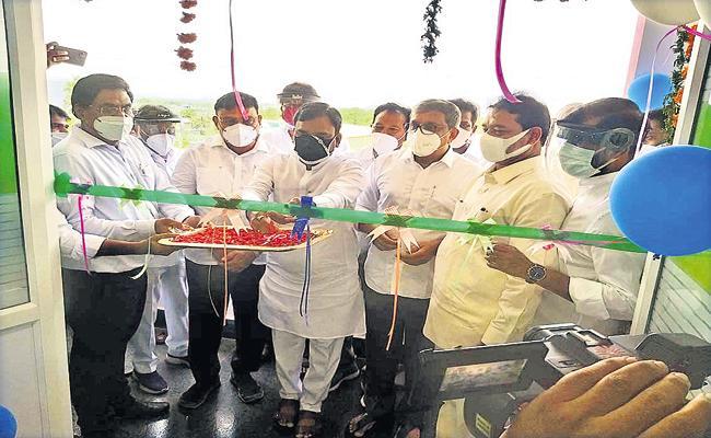 State Minority Commission Office Opening in Mangalagiri - Sakshi