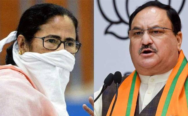 J.P. Nadda vows to save people of Bengal from political violence - Sakshi