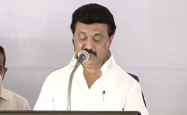 MK Stalin To Take Oath As Tamil Nadu CM - Sakshi