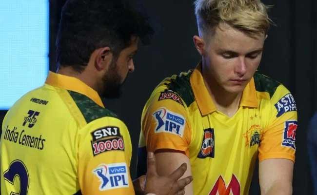 IPL 2021: Suresh Raina And Sam Curran Hillarious Meme Becomes Viral - Sakshi