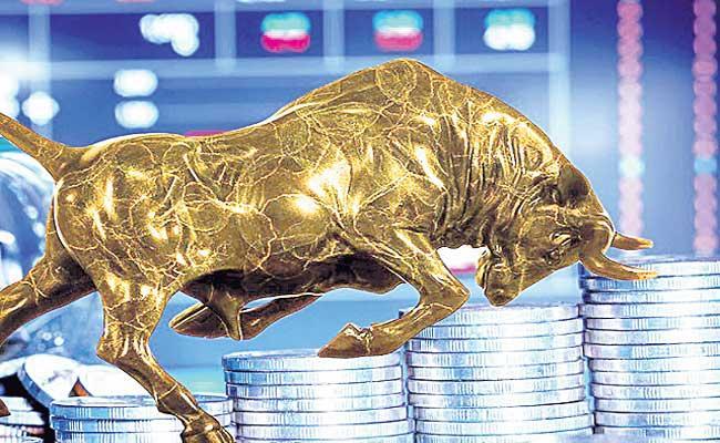 Nifty ends above 14,600, Sensex gains 424 pts led by pharma, financials - Sakshi