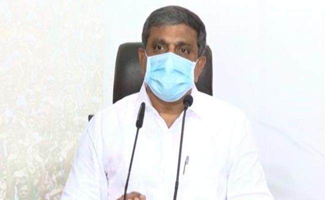 Sajjala Ramakrishna Reddy Slams Chandrababu Comments On N440k Strain - Sakshi