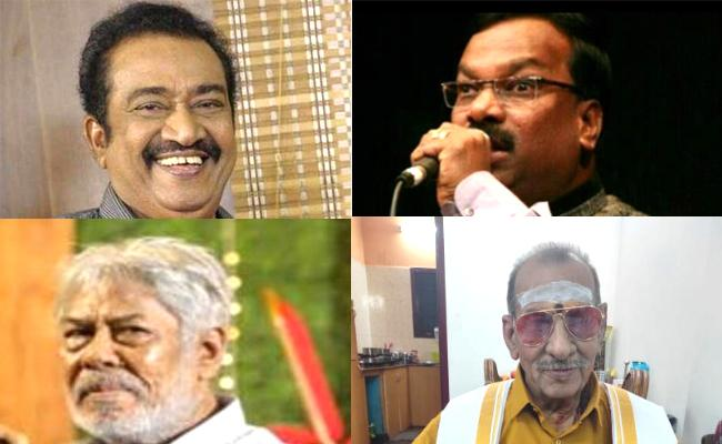 Four Tamil Cinema Stars Succumbed To Covid In One Day - Sakshi