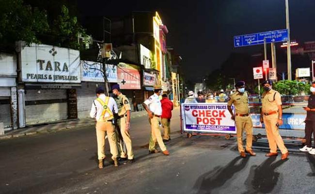 Night Curfew Extended In Telangana - Sakshi