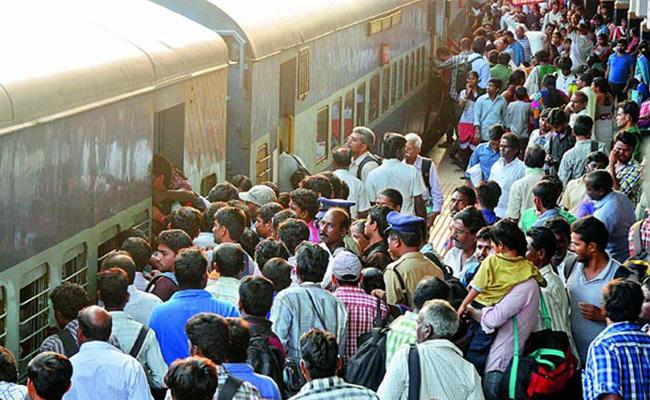 South Central Railway Official Misuse Train Journey - Sakshi