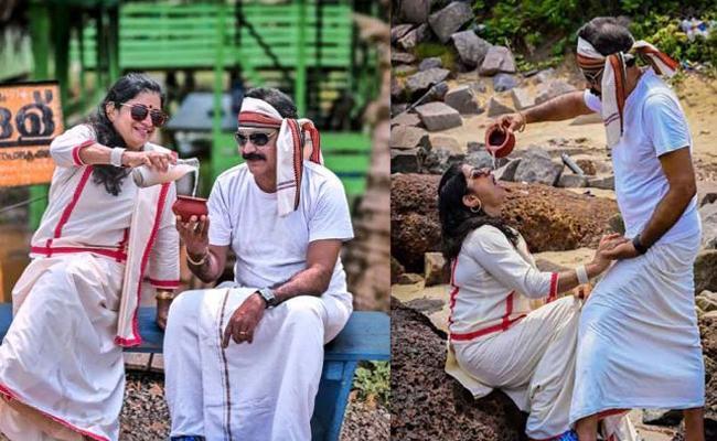 Kerala Aged Couple Photoshoot Goes Viral - Sakshi