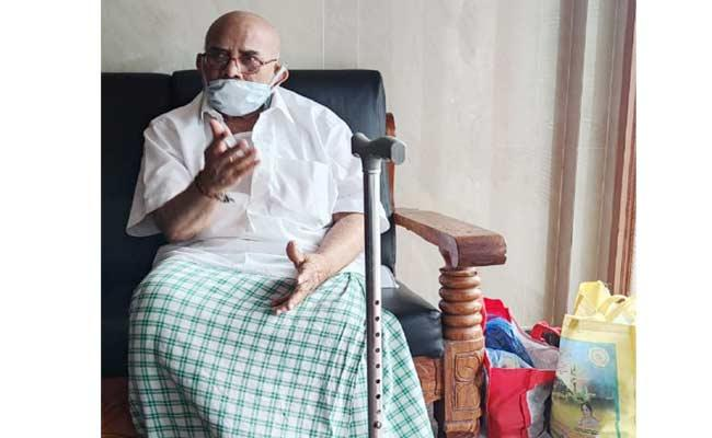 80 Year Old Man Pleads For Help - Sakshi