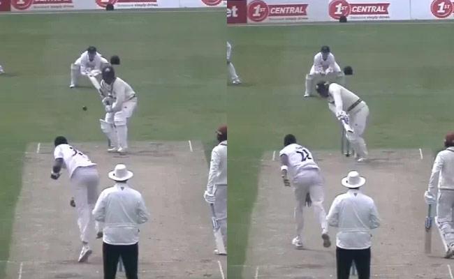 Jofra Archer banana Inswinger Shocks Batsman Became Viral - Sakshi