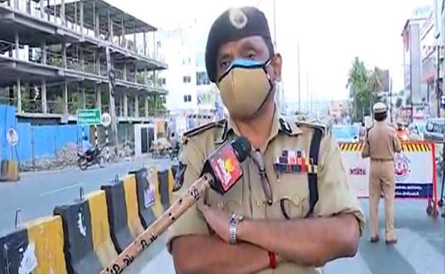 CP Bathina Srinivasulu Comments On Curfew In Andhra Pradesh - Sakshi