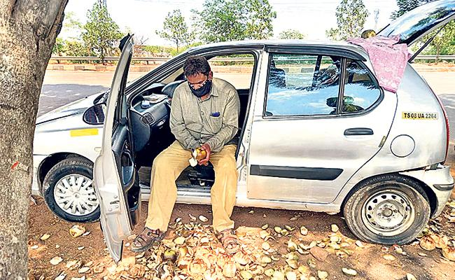 Cab Driver Has Lost The Job Due To Covid 19 - Sakshi