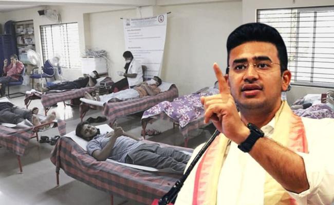 Five People Have Been Arrested For Allegedly Blocking Beds In Bengaluru - Sakshi