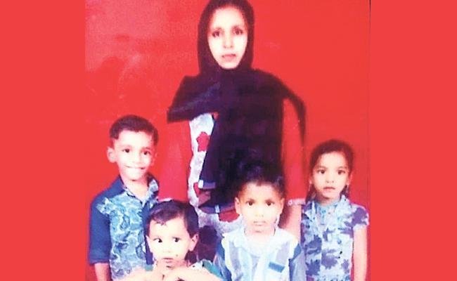Hyderabad: Lady Missing Along Her Four Childrens - Sakshi