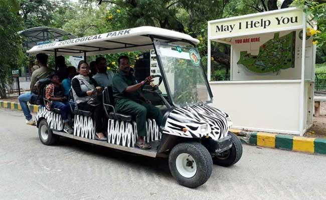 Covid Effect Nehru Zoological Park Layoff 20 Drivers - Sakshi