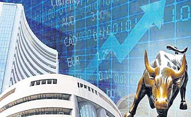 Nifty ends above 14,800, Sensex gains 256 pts led by metals - Sakshi
