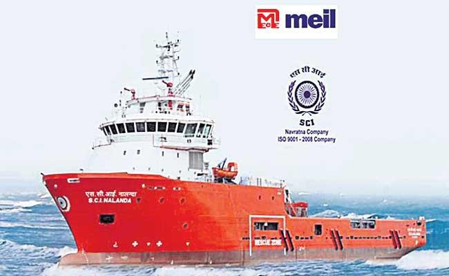 Megha Engg shortlisted for Shipping Corp Stake - Sakshi