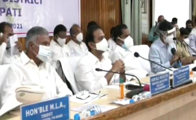 Ministers Review With Superiors On Covid Control Measures - Sakshi