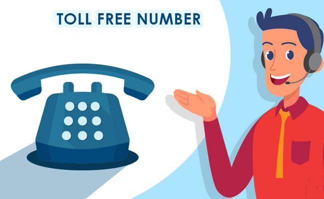 Details Of Toll Free Numbers - Sakshi