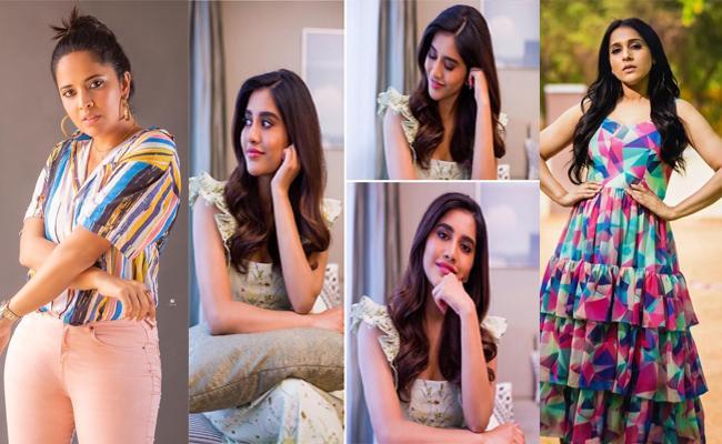 Social Halchal: Anasuya Bharadwaj, Nabha Natesh Movie Celebrities Social Media Posts - Sakshi