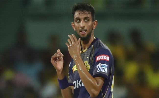 IPL 2021: Prasidh Krishna Tests Positive For Covid Kkr Team - Sakshi