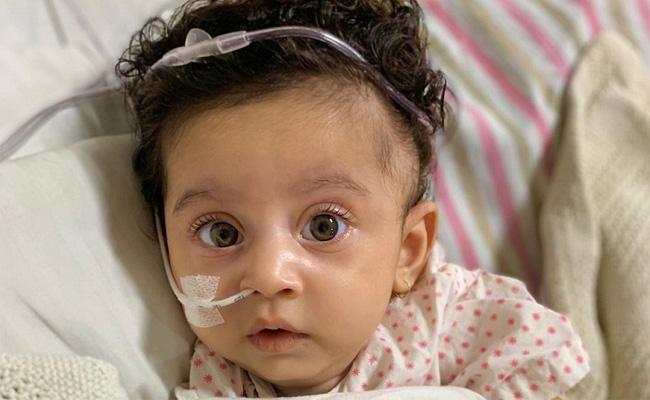People Donate ₹ 16 Crore For Child Teera Kamat   - Sakshi