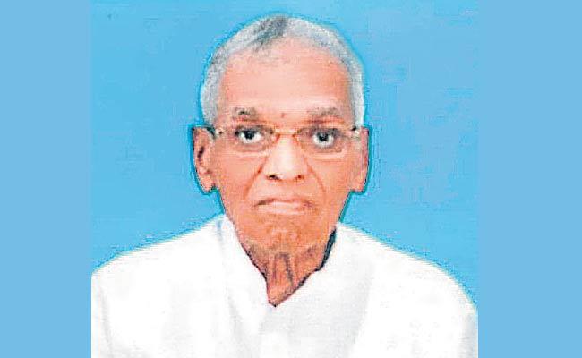 EX MLA Boggarapu Seetharamaiah Passed Away In Khammam District - Sakshi
