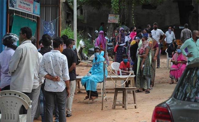 Corona Cases Cross 1 lakh In Telangana Within Two Weeks - Sakshi