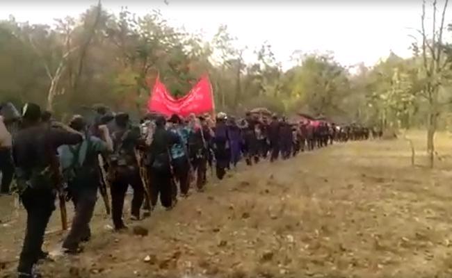 Khammam Police Offer Free Treatment For Covid positive Maoists - Sakshi