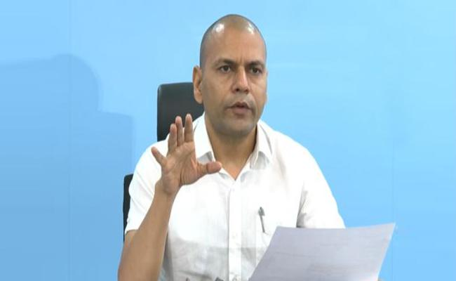 Anil Kumar Singhal Comment On Oxygen Availability In AP - Sakshi