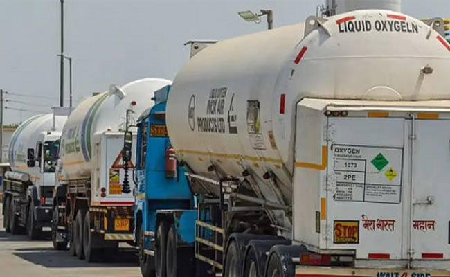 NHAI Exempts Tankers Carrying Liquid Medical Oxygen From Toll Fee - Sakshi