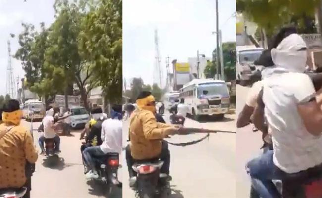 Bikers Open Fire In Madhya Pradesh Morena - Sakshi