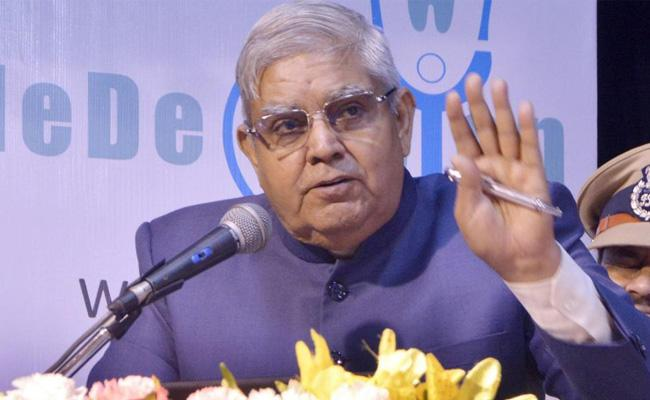 West Bengal Governor Dhankhar Fire On Cs And Dgp For Law And Order Reports - Sakshi