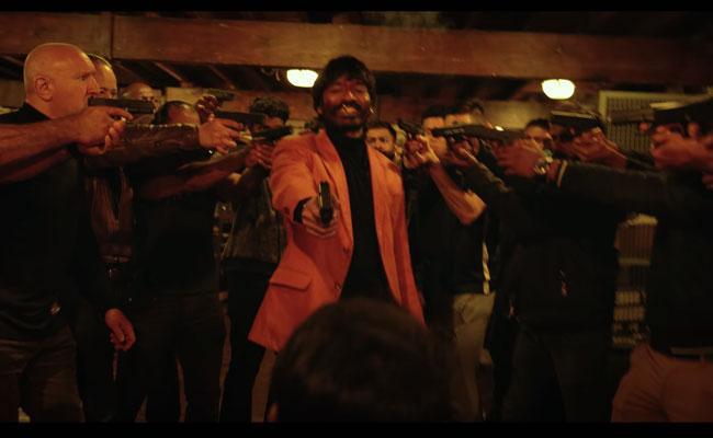 Dhanush karthik Subbaraj Jagame Thandiram Netflix Trailer Out - Sakshi