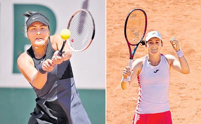 Bianca Andreescus first-round loss to Tamara Zidansek - Sakshi