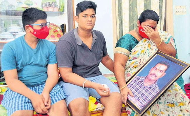 Chittoor District: Families Fight to Stay Afloat on Losing Breadwinners to Covid - Sakshi