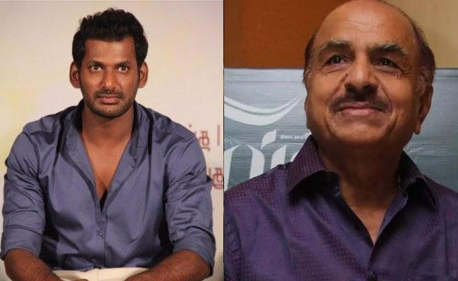Hero Vishal Police Complaint Against Super Good Films RB Chowdhury - Sakshi