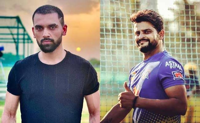 Suresh Raina Comments On Deepak Chahar New Look, Says Family Man Part 3 On The Way - Sakshi