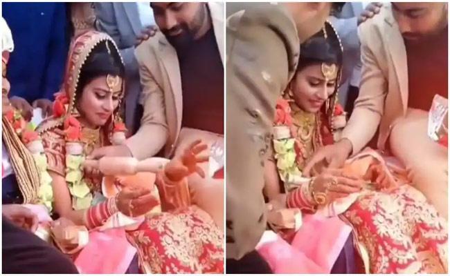 Friends Given Bizarre Gifts To Bride In Delhi - Sakshi