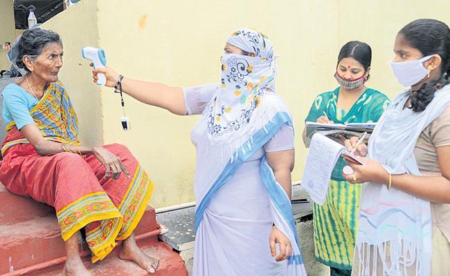 Coronavirus: Twelfth Fever Survey Starts In AP Today - Sakshi