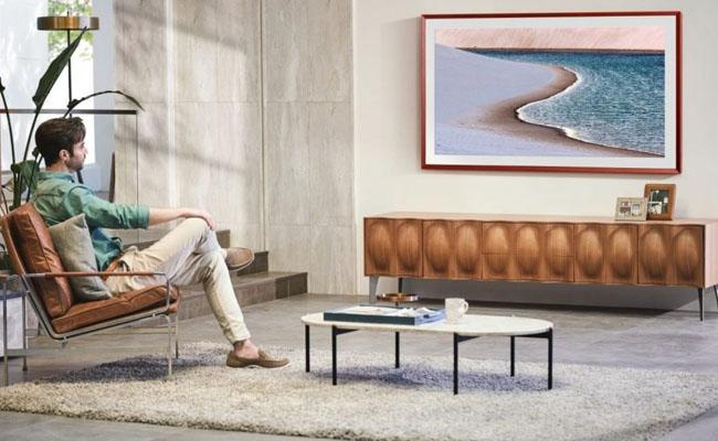Samsung launches The Frame TV 2021 customisable bezels - Sakshi