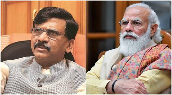 PM Modi Top Leader Of Country And Party Says Shiv Sena Sanjay Raut - Sakshi