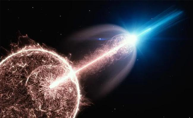 Spectacular Gamma Radiation From Collapse Of Dying Star Could Change Understanding Of The Universe - Sakshi