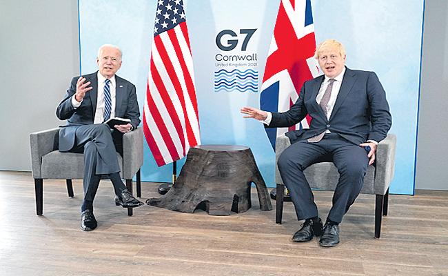 G7 To Provide 1 Billion Covid Vaccine Doses To World By 2023 - Sakshi