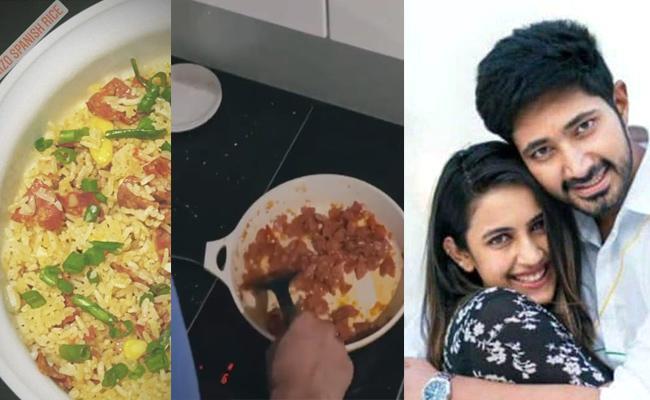 Niharika Konidela Shares Coocking Video Of Her Husband In Instagram - Sakshi