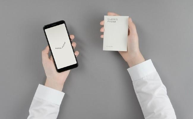 Paper Phone which helps you take a break away from your digital world - Sakshi