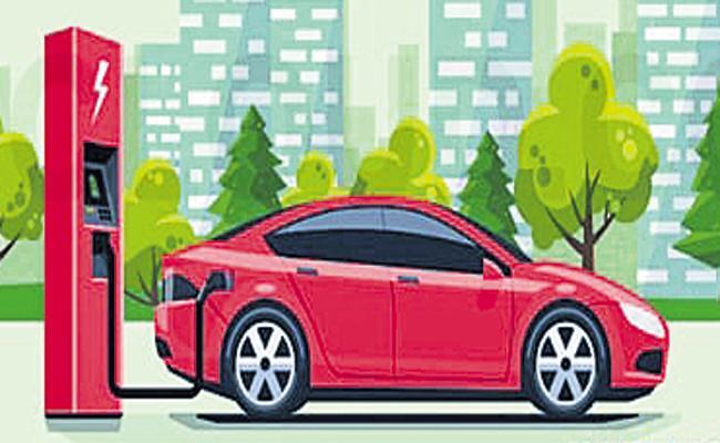 400 charging stations for Electric vehicles In Andhra Pradesh - Sakshi