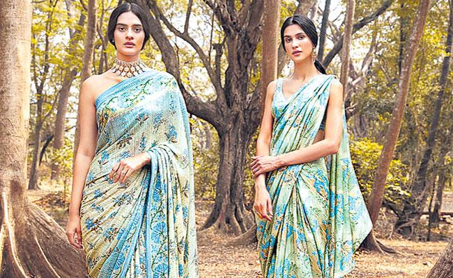 Anita Dongre Tencel Sound of the Forest Collections, Sustainable Fashion - Sakshi