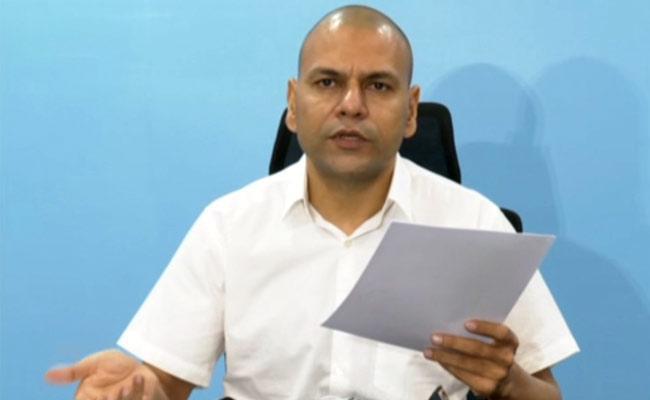 AP Health Secretary Anil Kumar Singhal Over Covid Situation - Sakshi
